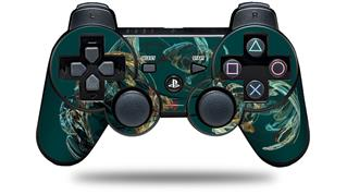 Sony PS3 Controller Decal Style Skin - Blown Glass (CONTROLLER NOT INCLUDED)
