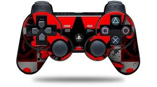 Sony PS3 Controller Decal Style Skin - Emo Star Heart (CONTROLLER NOT INCLUDED)