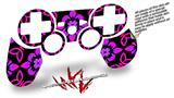 Sony PS3 Controller Decal Style Skin - Pink Floral (CONTROLLER NOT INCLUDED)