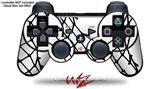 Sony PS3 Controller Decal Style Skin - Ripped Fishnets (CONTROLLER NOT INCLUDED)