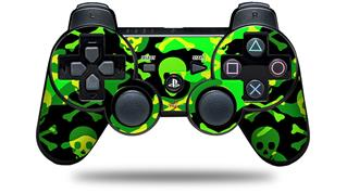 Sony PS3 Controller Decal Style Skin - Skull Camouflage (CONTROLLER NOT INCLUDED)