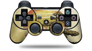 Sony PS3 Controller Decal Style Skin - Bonsai Sunset (CONTROLLER NOT INCLUDED)