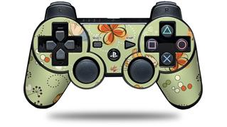 Sony PS3 Controller Decal Style Skin - Birds Butterflies and Flowers (CONTROLLER NOT INCLUDED)