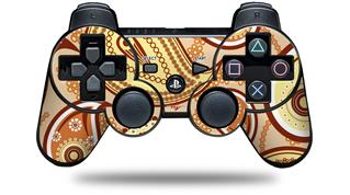 Sony PS3 Controller Decal Style Skin - Paisley Vect 01 (CONTROLLER NOT INCLUDED)