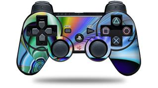 Sony PS3 Controller Decal Style Skin - Discharge (CONTROLLER NOT INCLUDED)