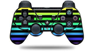 Sony PS3 Controller Decal Style Skin - Stripes Rainbow (CONTROLLER NOT INCLUDED)