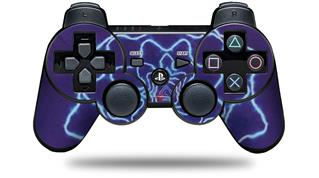 Sony PS3 Controller Decal Style Skin - Tie Dye Purple Stars (CONTROLLER NOT INCLUDED)