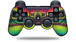 Sony PS3 Controller Decal Style Skin - Tie Dye Dragonfly (CONTROLLER NOT INCLUDED)