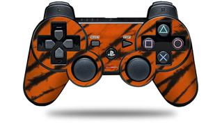 Sony PS3 Controller Decal Style Skin - Tie Dye Bengal Belly Stripes (CONTROLLER NOT INCLUDED)