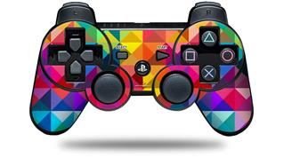 Sony PS3 Controller Decal Style Skin - Spectrums (CONTROLLER NOT INCLUDED)