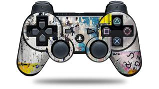 Sony PS3 Controller Decal Style Skin - Urban Graffiti (CONTROLLER NOT INCLUDED)