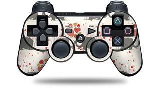 Sony PS3 Controller Decal Style Skin - Elephant Love (CONTROLLER NOT INCLUDED)