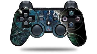 Sony PS3 Controller Decal Style Skin - Aquatic 2 (CONTROLLER NOT INCLUDED)