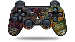 Sony PS3 Controller Decal Style Skin - Organic 2 (CONTROLLER NOT INCLUDED)