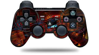 Sony PS3 Controller Decal Style Skin - Reactor (CONTROLLER NOT INCLUDED)