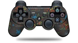 Sony PS3 Controller Decal Style Skin - Flowers Pattern 07 (CONTROLLER NOT INCLUDED)