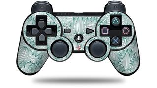 Sony PS3 Controller Decal Style Skin - Flowers Pattern 09 (CONTROLLER NOT INCLUDED)