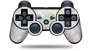Sony PS3 Controller Decal Style Skin - Flowers Pattern 10 (CONTROLLER NOT INCLUDED)