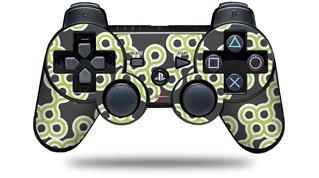 Sony PS3 Controller Decal Style Skin - Locknodes 02 Sage Green (CONTROLLER NOT INCLUDED)