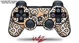 Sony PS3 Controller Decal Style Skin - Locknodes 03 Peach (CONTROLLER NOT INCLUDED)