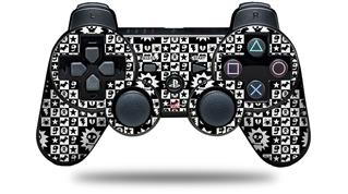 Sony PS3 Controller Decal Style Skin - Gothic Punk Pattern (CONTROLLER NOT INCLUDED)