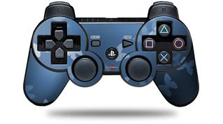 Sony PS3 Controller Decal Style Skin - Bokeh Butterflies Blue (CONTROLLER NOT INCLUDED)