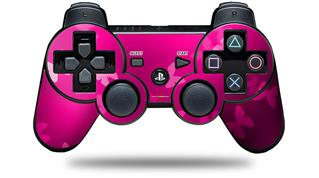 Sony PS3 Controller Decal Style Skin - Bokeh Butterflies Hot Pink (CONTROLLER NOT INCLUDED)