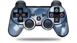 Sony PS3 Controller Decal Style Skin - Bokeh Squared Blue (CONTROLLER NOT INCLUDED)