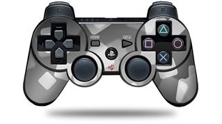 Sony PS3 Controller Decal Style Skin - Bokeh Squared Grey (CONTROLLER NOT INCLUDED)