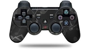 Sony PS3 Controller Decal Style Skin - Bokeh Music Grey (CONTROLLER NOT INCLUDED)