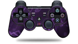 Sony PS3 Controller Decal Style Skin - Bokeh Music Purple (CONTROLLER NOT INCLUDED)