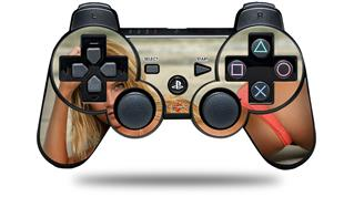 Sony PS3 Controller Decal Style Skin - Kayla DeLancey Pink Bikini 18 (CONTROLLER NOT INCLUDED)
