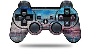 Sony PS3 Controller Decal Style Skin - Landscape Abstract RedSky (CONTROLLER NOT INCLUDED)