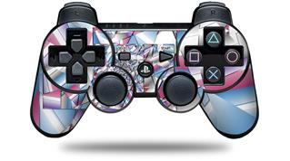 Sony PS3 Controller Decal Style Skin - Paper Cut (CONTROLLER NOT INCLUDED)
