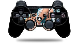 Sony PS3 Controller Decal Style Skin - Alice Pinup Girl (CONTROLLER NOT INCLUDED)