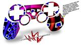 Sony PS3 Controller Decal Style Skin - Rocket Science (CONTROLLER NOT INCLUDED)