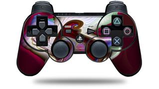 Sony PS3 Controller Decal Style Skin - Racer (CONTROLLER NOT INCLUDED)