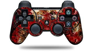 Sony PS3 Controller Decal Style Skin - Reaction (CONTROLLER NOT INCLUDED)