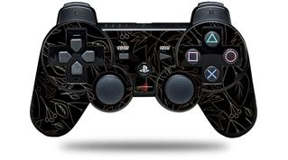 Sony PS3 Controller Decal Style Skin - Fall Pink Brown (CONTROLLER NOT INCLUDED)