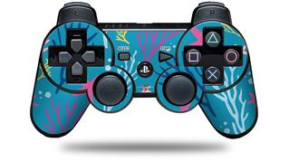 Sony PS3 Controller Decal Style Skin - Sea Colorful (CONTROLLER NOT INCLUDED)