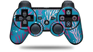 Sony PS3 Controller Decal Style Skin - Sea Pink (CONTROLLER NOT INCLUDED)