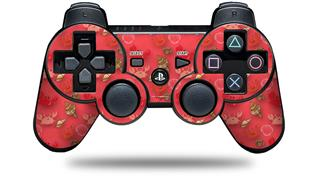 Sony PS3 Controller Decal Style Skin - Crabs and Shells Coral (CONTROLLER NOT INCLUDED)