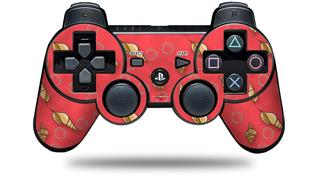 Sony PS3 Controller Decal Style Skin - Sea Shells 02 Coral (CONTROLLER NOT INCLUDED)