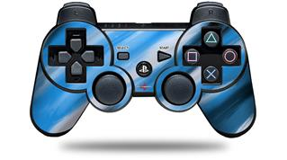 Sony PS3 Controller Decal Style Skin - Paint Blend Blue (CONTROLLER NOT INCLUDED)