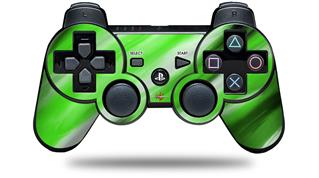 Sony PS3 Controller Decal Style Skin - Paint Blend Green (CONTROLLER NOT INCLUDED)