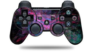 Sony PS3 Controller Decal Style Skin - Cubic (CONTROLLER NOT INCLUDED)