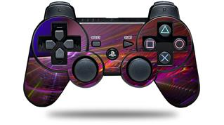 Sony PS3 Controller Decal Style Skin - Swish (CONTROLLER NOT INCLUDED)