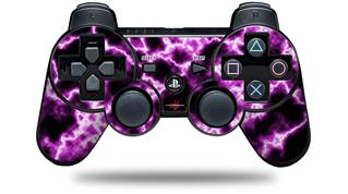Sony PS3 Controller Decal Style Skin - Electrify Hot Pink (CONTROLLER NOT INCLUDED)