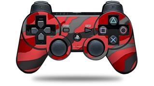 Sony PS3 Controller Decal Style Skin - Camouflage Red (CONTROLLER NOT INCLUDED)