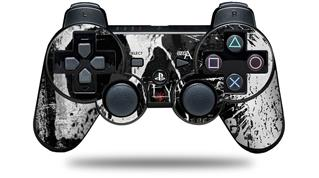 Sony PS3 Controller Decal Style Skin - Urban Skull (CONTROLLER NOT INCLUDED)